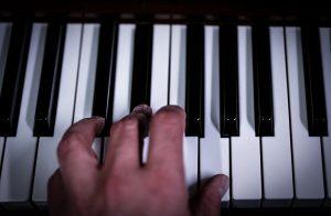 keys, piano, close up