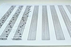 request sheet music transcription - handwritten notes