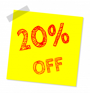 Demo song sheet music - transcription prices discount 20%